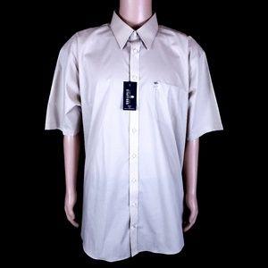 Stafford Men Button Shirt Travel Easy Care Big